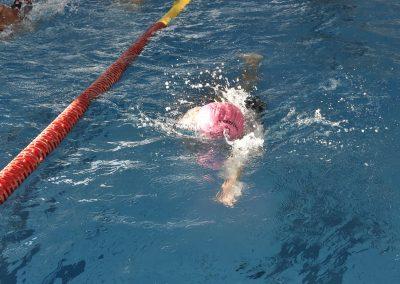 10 Das 24-Stunden Schwimmen in der ersten Stunde