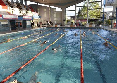 28 Das 24-Stunden Schwimmen in der ersten Stunde